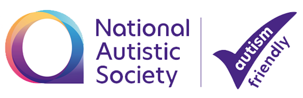 National Autistic Society and Autism Friendly logos