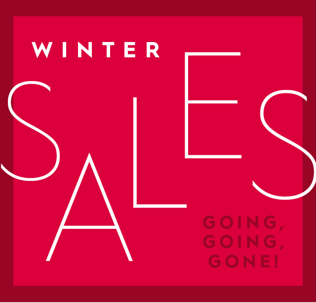 Winter Sales - Going, Going, Gone!
